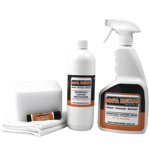 Essentials Leather Care Kit + Ink Remover